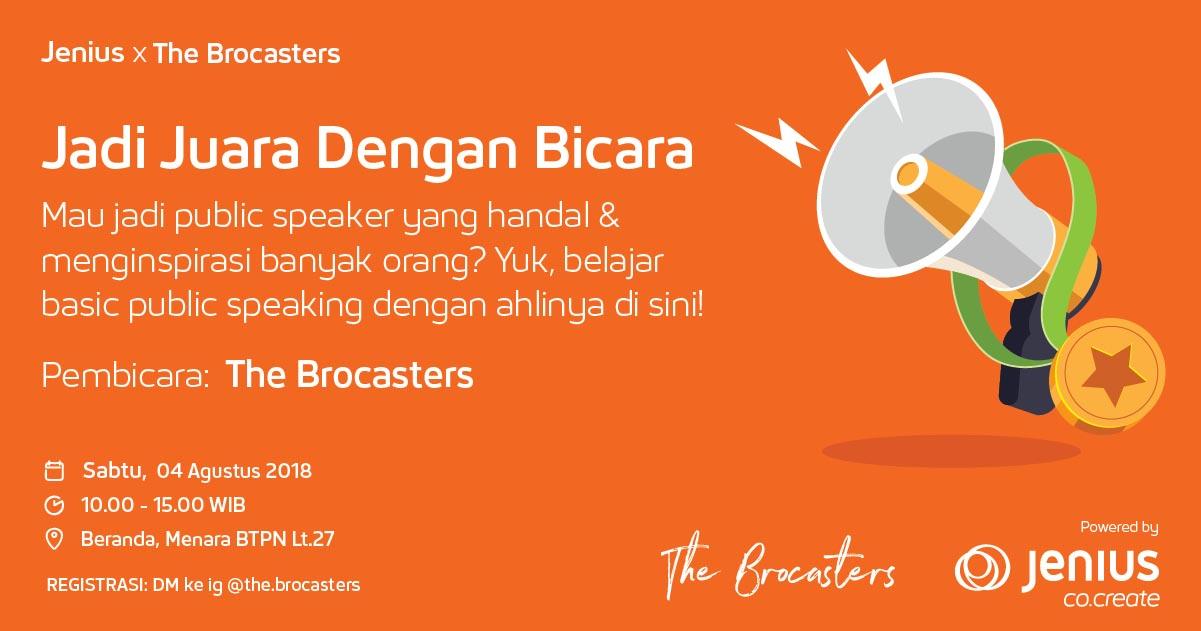 Jenius x The Brocasters