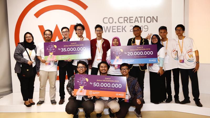 pemenang jenius hackathon 2019