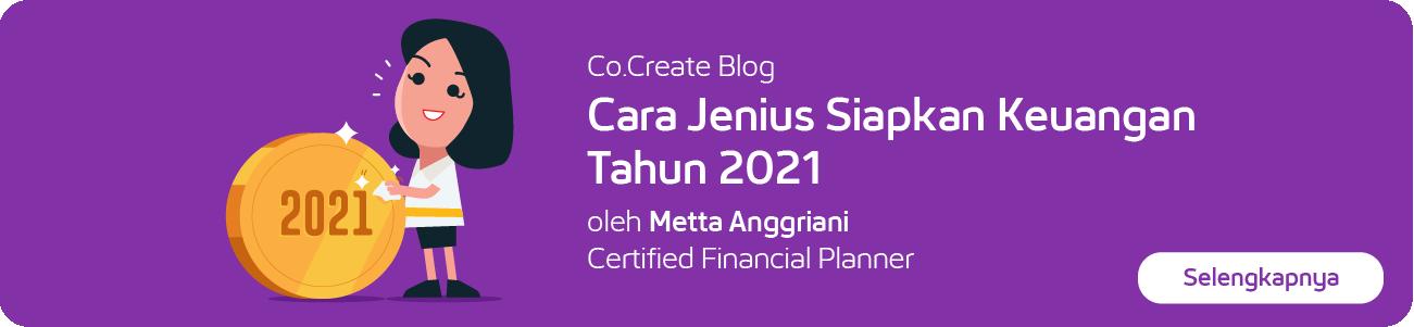 Co.Create Blog – Cara Jenius Siapkan Keuangan 2021