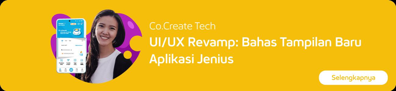 event ui/ux revamp